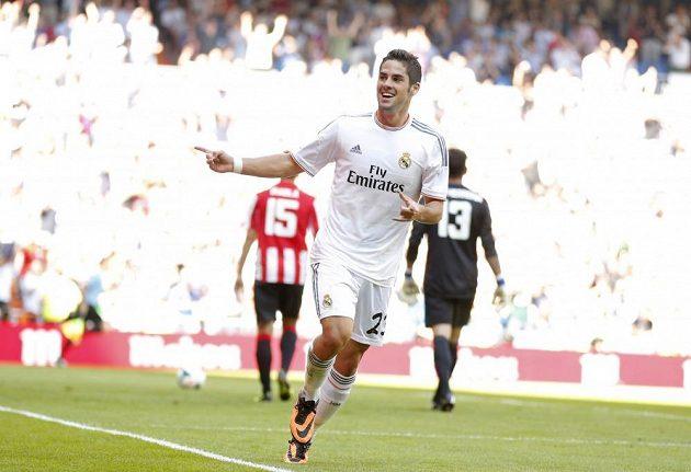 Francisco Alarcón 'Isco' se raduje z gólu do sítě Bilbaa.