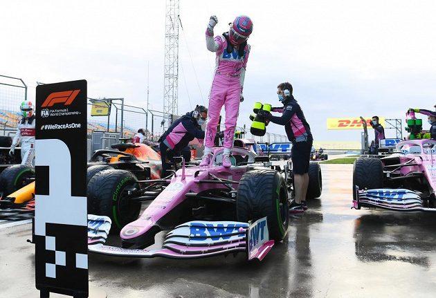 Tureckou kvalifikaci ovládl Lance Stroll z Racing Pointu.