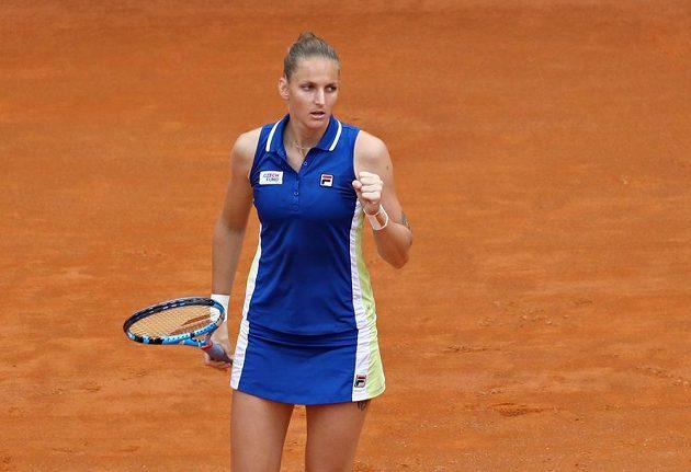 Karolína Plíšková odehrála výborný turnaj