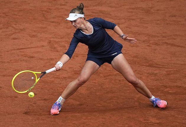 Barbora Krejčíková předvádí na French Open skvělé výkony
