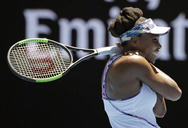 Venus Williamsová slaví postup do semifinále AO.