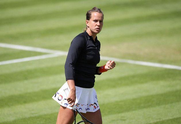 Barbora Strýcová slaví postup do semifinále turnaje v Birminghamu