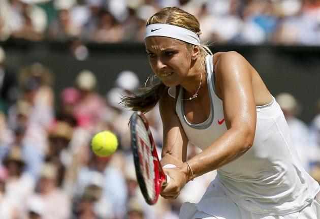 Němce Lisické se finálový duel na Wimbledonu nevydařil.