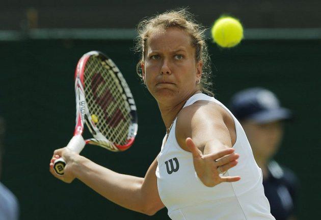 Barbora Záhlavová-Strýcová postoupila poprvé v kariéře do čtvrtfinále Wimbledonu.