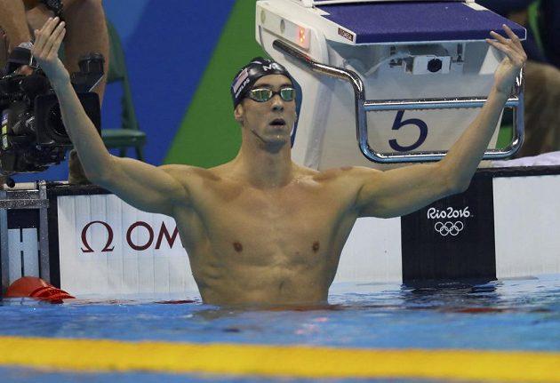 Americký plavec Michael Phelps ovládl v Riu závod na 200 metrů motýlek. Olympijský rekordman tak pod pěti kruhy vybojoval jubilejní 20. zlato!