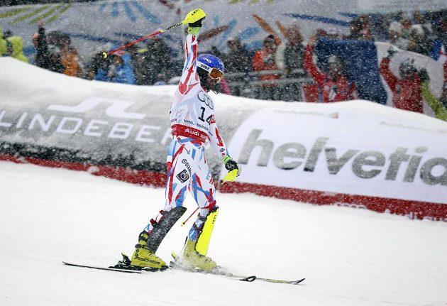 Francouzský lyžař Jean-Baptiste Grange vyhrál na MS v Beaver Creeku slalom.