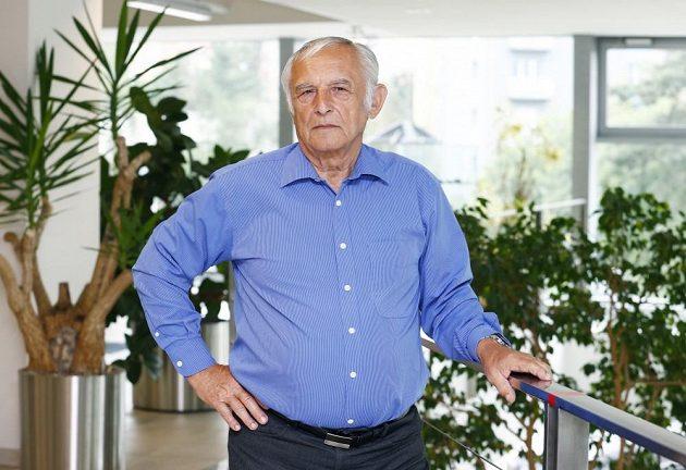 Začátkem října oslavil Květoslav Mašita 73. narozeniny