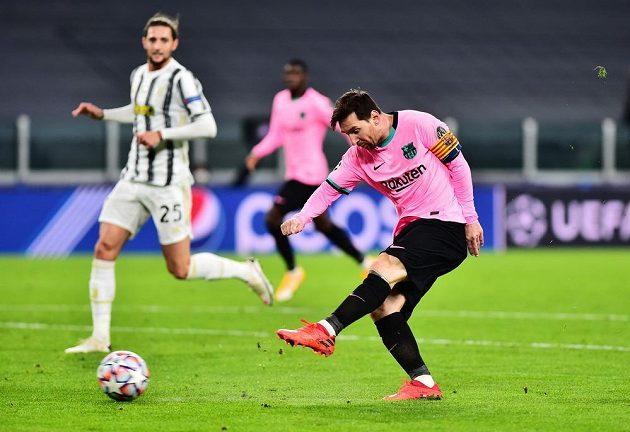 Lionel Messi ve velké šanci neuspěl