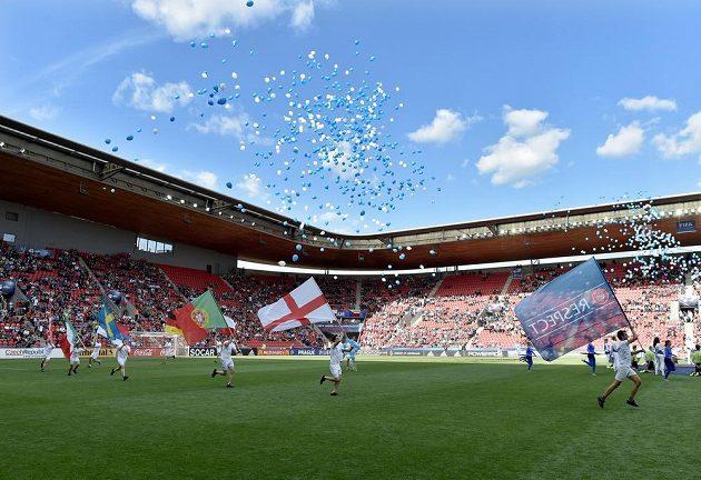 Slavnostní zahájení EURO 2015 hráčů do 21 let.