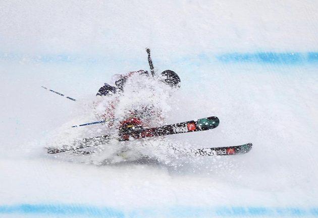 Američanka Keri Hermanová nebyla v cíli kvalifikace slopestylu ani vidět.