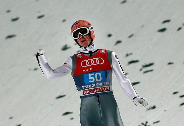 Němec Severin Freund (na snímku) skončil na Turné čtyř můstků druhý.