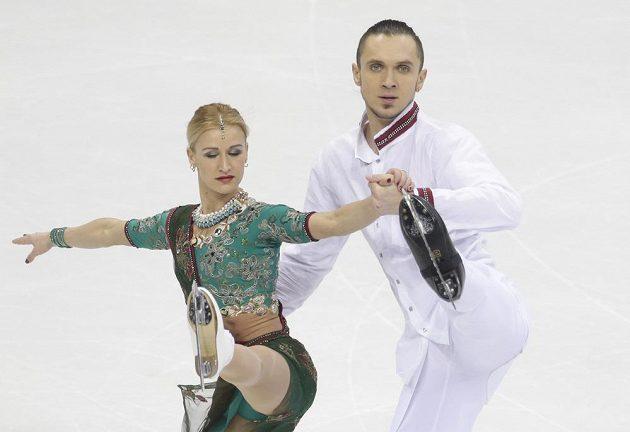 Taťjana Volosožarová a Maxim Traňkov na MS v Bratislavě.