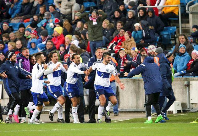 San Marino dalo v Norsku gól. Dočkalo se po více než roce.