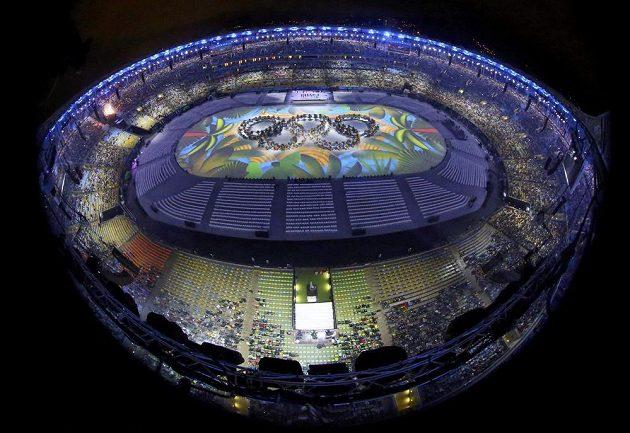 Slavnostní zakončení her v Riu.
