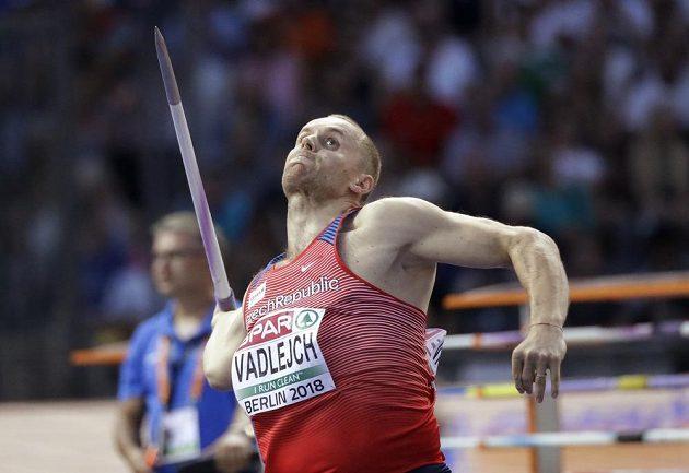 Jakub Vadlejch ve finále evropského šampionátu v Berlíně.