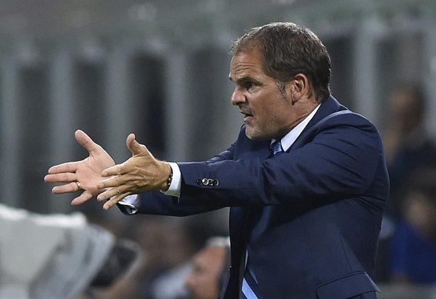Ani příchod trenéra Franka de Boera zatím Interu nepomohl.