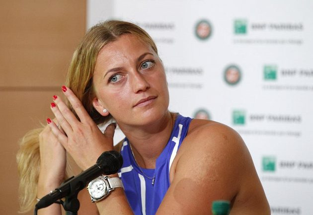 Petra Kvitová oznámila na tiskové konferenci v Paříži, že na grandslamovém French Open bude startovat.
