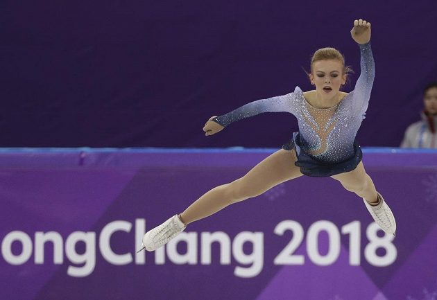 Finka Emmi Peltonenová a její představení ve volné jízdě na olympiádě.