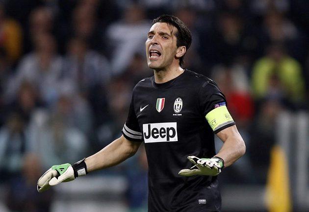 Gólman turínského Juventusu Gianluigi Buffon.