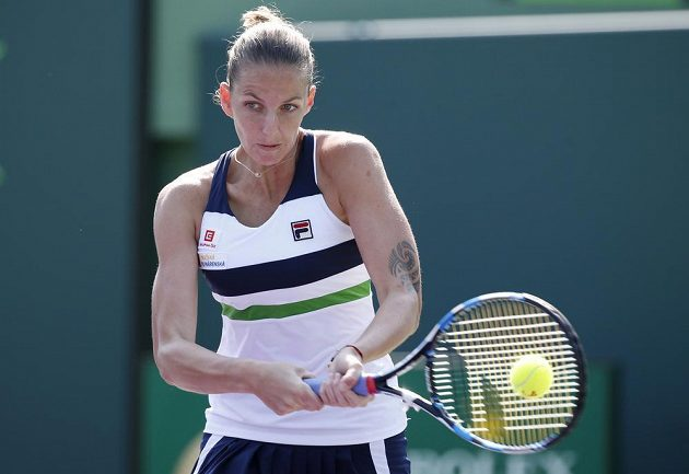 Tenistka Karolína Plíšková porazila v druhém kole turnaje v Miami americkou kvalifikantku Madison Brengleovou za necelou hodinu 6:1, 6:3.