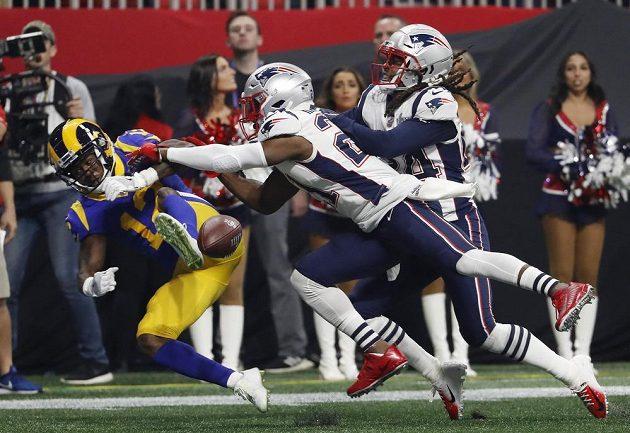 Super Bowl byl plný taktiky. Tým New England Patriots vyhrál nad Los Angeles Rams 13:3.