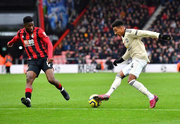 Fotbalisté Manchesteru United se proti Bournemouthu neprosadili