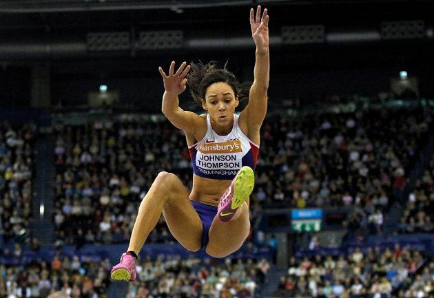 Britská vícebojařka Katarina Johnsonová-Thompsonová.