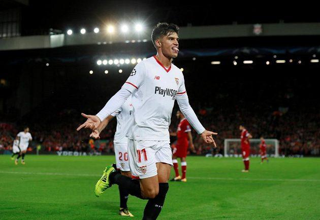 Střídající útočník Joaquin Correa zařídil Seville bod.