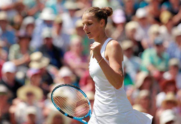 Tenistka Karolína Plíšková potvrdila před Wimbledonem skvělou formu.