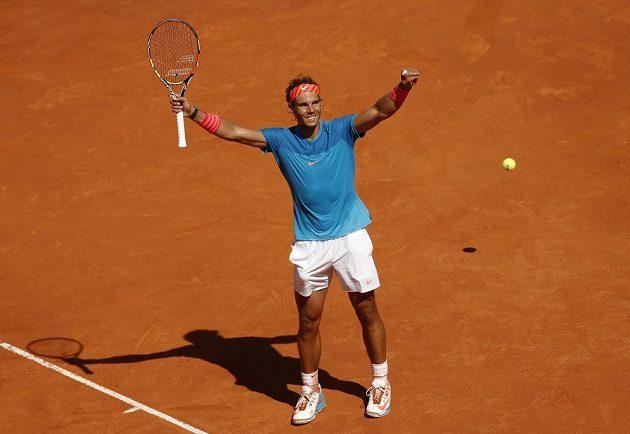 Španěl Rafael Nadal ani tentokrát nedal Tomáši Berdychovi na antuce šanci.