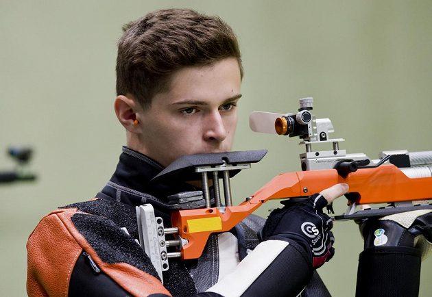 Filip Nepejchal v kvalifikaci ve střelbě ze vzduchové pušky neuspěl.