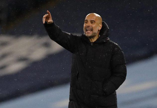 Trenér Pep Guardiola diriguje fotbalisty Manchesteru City v odvetě semifinále Ligy mistrů.