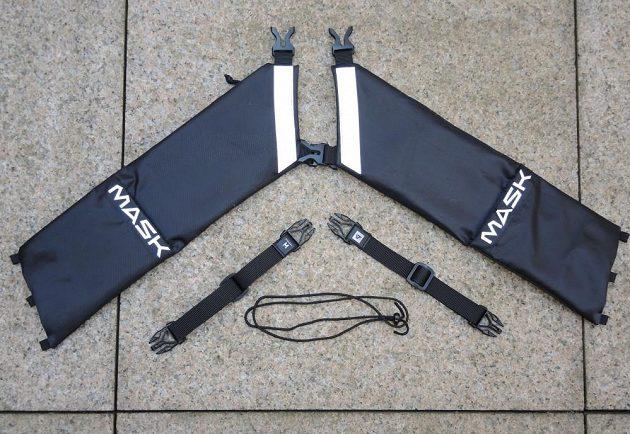 Běžecké pouzdro Binder Jogger od Mask Gear je složený z pěti částí.
