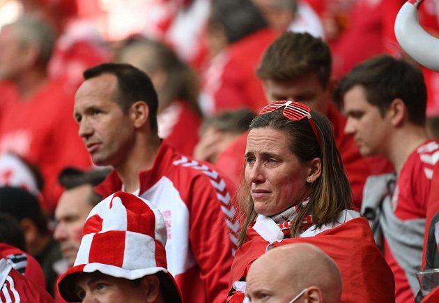 Hrůza v očích dánských fanoušků
