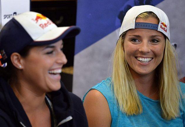 V Riu narazí Markéta Sluková a Barbora Hermannová (vlevo) na těžké soupeřky z Brazílie, Argentiny a Španělska.
