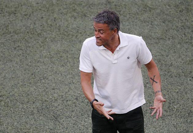 Trenér španělské fotbalové reprezentace Luis Enrique.