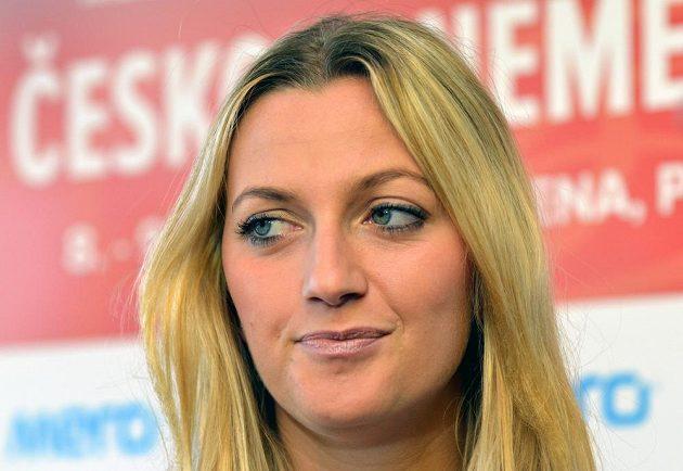 Petra Kvitová povede český fedcupový tým proti Německu.