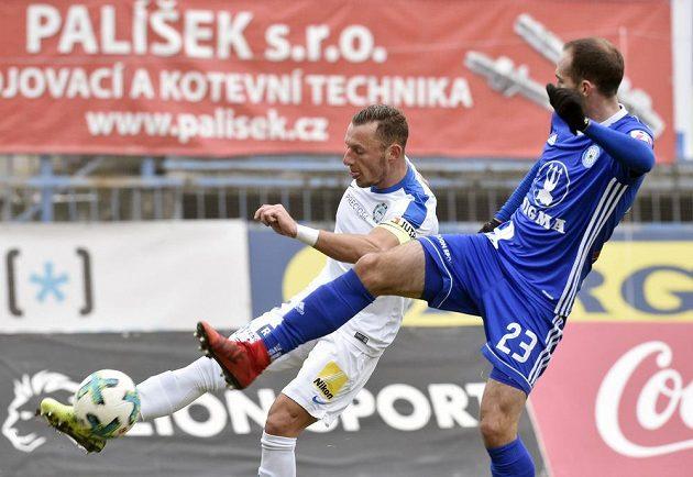 Zleva Vladimír Coufal z Liberce a Tomáš Zahradníček z Olomouce.
