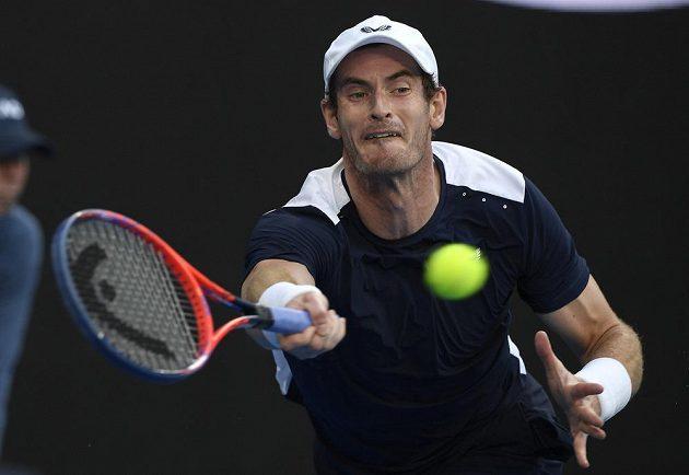 Britský tenista Andy Murray ve svém zřejmě posledním utkání na Australian Open.
