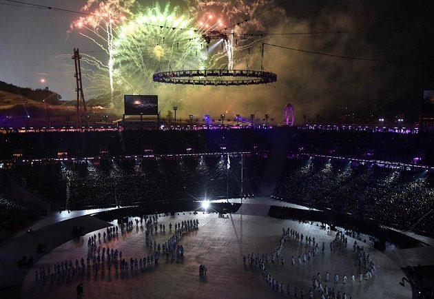 Zimní olympijské hry byly zahájeny.