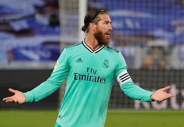 Kapitán Realu Madrid Sergio Ramos nedohrál kvůli zranění zápas proti Realu Sociedad. Kouč ale věří, že bude brzy fit.
