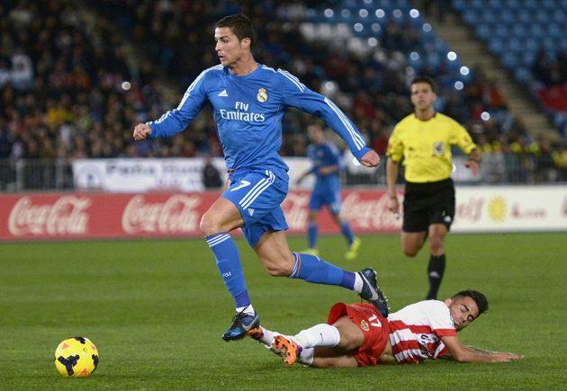 Cristiano Ronaldo duel s Almeríou nedohrál.