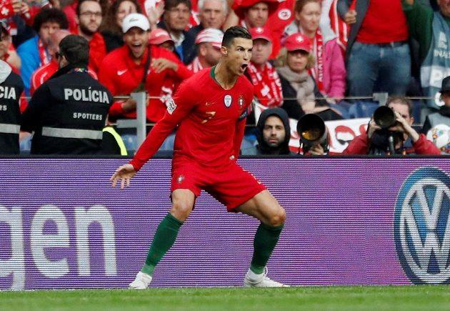 Cristiano Ronaldo se postaral o úvodní branku utkání