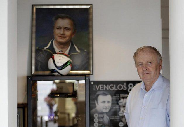 Bývalý úspěšný fotbalový trenér Jozef Vengloš na snímku z 8. listopadu 2016.