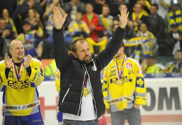 Zlínský Rostislav Vlach, trenér nových mistrů.