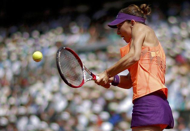 Rumunská tenistka Simona Halepová ve finále French Open.