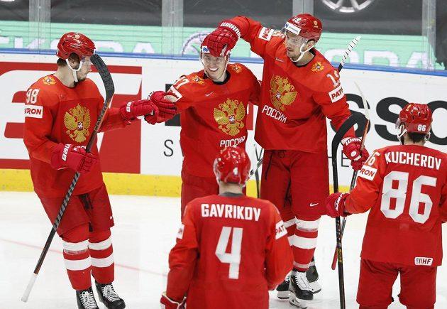 Ruská radost v duelu o bronz na MS.