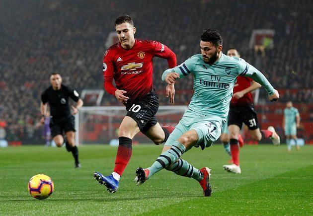 Arsenal začal výborně a na Old Trefford šel do vedení