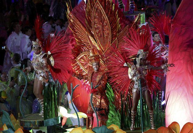 Karneval v Riu, aneb slavnostní zakončení letních OH.