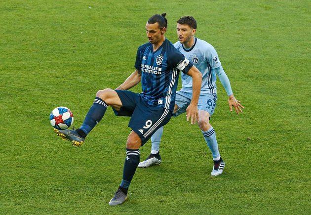 Nejvyšší plat v severoamerické soutěži MLS pobírá švédský kanonýr Zlatan Ibrahimovic